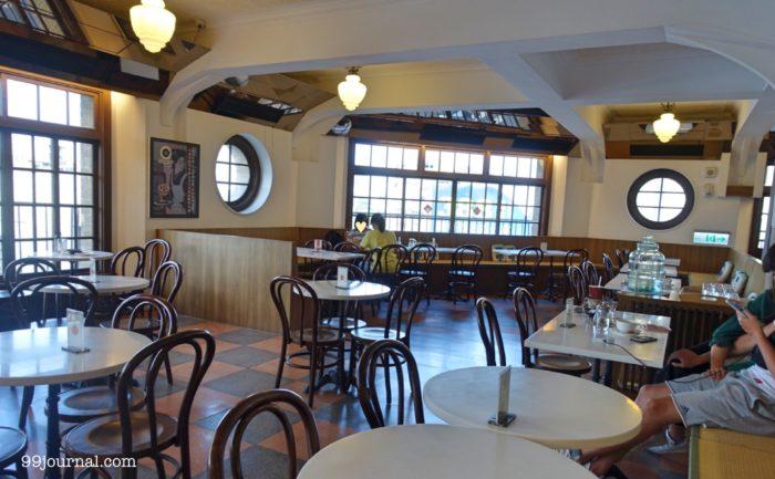 台南の林百貨のカフェの写真