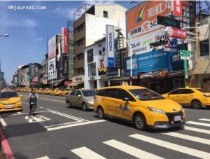 台南のタクシーの写真