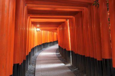 京都の伏見稲荷大社の写真