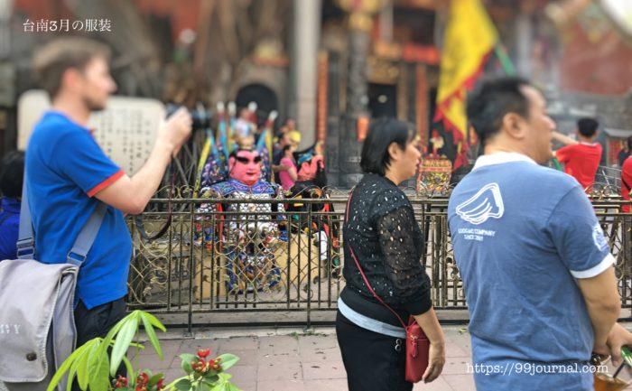 台南3月の天気・気温・服装の画像