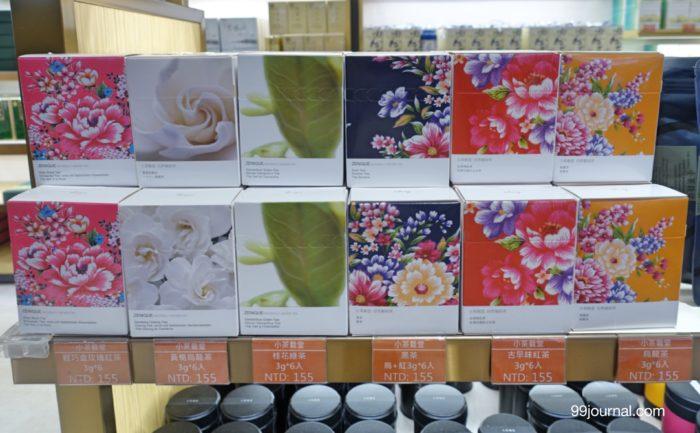 台湾の桃園空港で買える台湾茶のお土産の画像